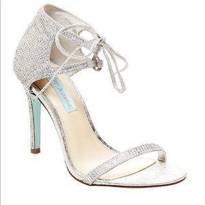 "Betsy Johnson rhinestone heels style ""gabi"""